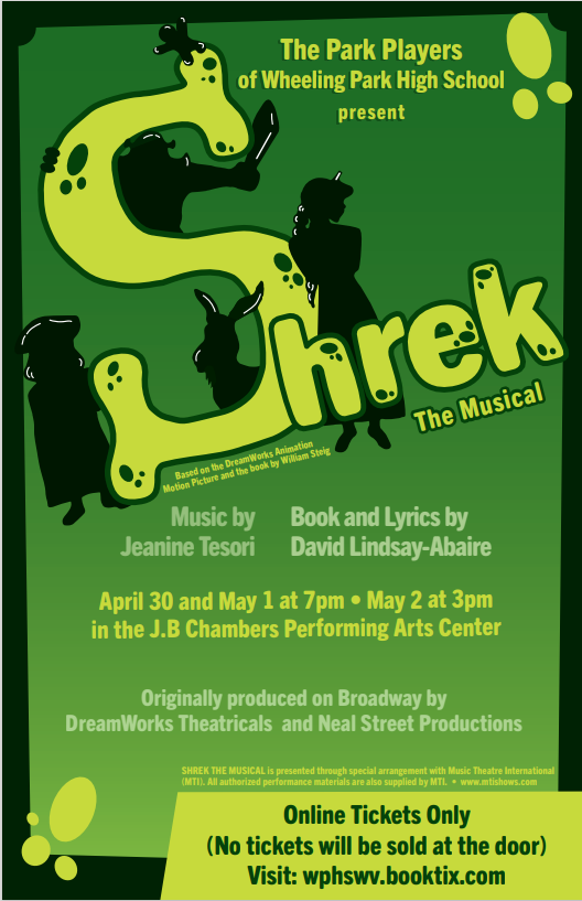 "The Park Players Present ""Shrek the Musical"""