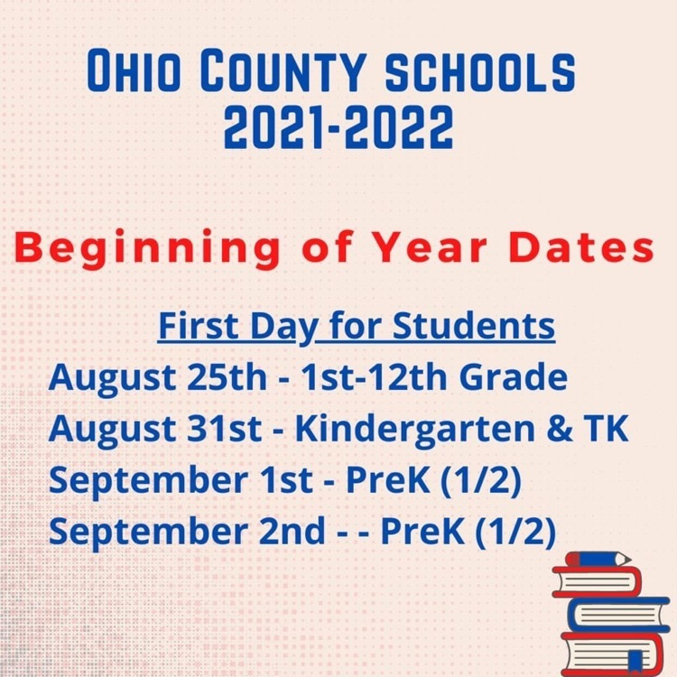 beginning of the year dates